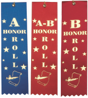A Honor Roll Ribbons