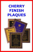 images/Cherry Finish Plaques Directional Box