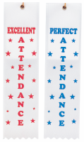 Perfect Attendance Ribbons
